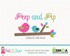 Photography Logo Premade Bird Logo Branch by stylemesweetdesign, $40.00