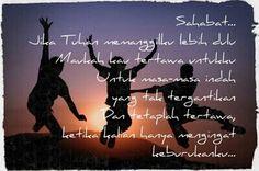 Untuk sahabatku... i miss you all... i miss Indonesia