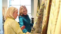 North Carolina design duo Patti Allen and Stephanie James take you along to Showtime, the fabric market for the home furnishings industry, to see whats coming to our sofas, drapery and bedding in the next year. Gorgeous jacquards. Bright hues right off Europes fashion runway. Traditional damasks reimagined for modern living.