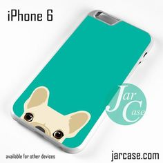 Blue French Bulldog Phone case for iPhone 6 and other iPhone devices