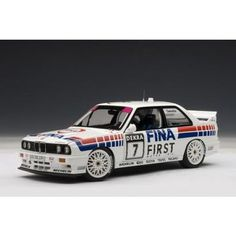 "#Autoart #BMW M3 E30 DTM 1992 ""Fina"" C.Cecotto #7 