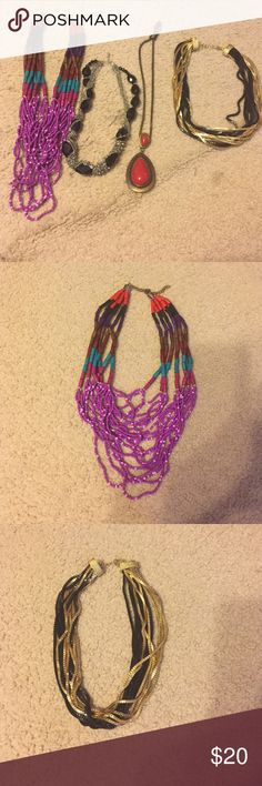 Necklace bundle Necklace bundle (4) Jewelry Necklaces