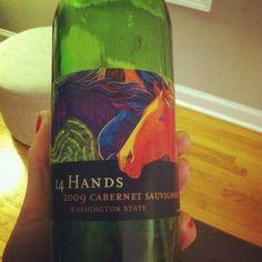14 Hand 2009 Cabernet - $14