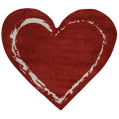 Fun Rugs Fun Time Shape Red Heart Home Decorative Accent Area Rug 35 Kids Area Rugs, Machine Made Rugs, Area Rug Sizes, Heart For Kids, Indoor Rugs, Carpet Runner, Beige Area Rugs, Cool Rugs, Toys