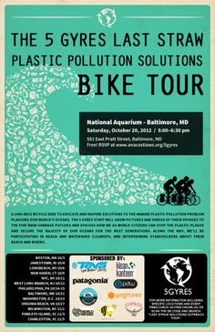 A 1400-mile bike ride to educate and inspire solutions to the marine plastic pollution problem.