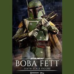 Star Wars Sideshow ESB Boba Fett 1/6 Scale by Sideshow Collectibles