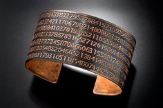 A little late for this year's Pi Day, but this is the perfect blend of geek and chic!