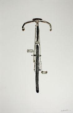 En bici...