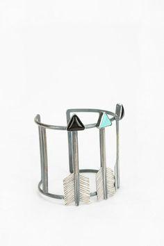Rejoice The Hands Three Arrows Cuff Bracelet #urbanoutfitters