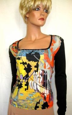 New SAVE THE QUEEN Cocktail Top, T 36-38 / UK 6-8 / S (small) Italy - GORGEOUS!! #SavetheQueen #KnitTop #EveningOccasion at NOVELTY COUTURE http://stores.ebay.com/NOVELTY-COUTURE #savethequeen #style #fashion #noveltycouture  #dress #cocktaildress #birthday #party  #date #christmas #italy #madeinitaly  #holidays #johnhardy #rebeccaminkoff  #barbarabixby #emiliopucci #jewelry