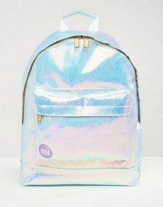 Mi-Pac Pebbled Iridescent Backpack