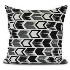 Found it at AllModern - Borel Arrow Geometric Outdoor Throw Pillow