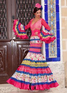 """EXOTICO """"CANASTERO"""" - Guadalupe Moda Flamenca"""