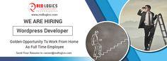 @redlogics Looking for WordPress Developer