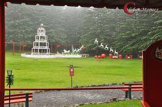 Pátio Parque Casa do Papai Noel - Gramado - RS - Brasil
