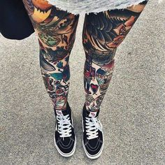 Tattoos legs