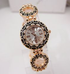 Wholesale Fashion Rose Gold Tone Watch Women Ladies Quartz Wrist Watch  TW017