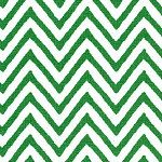 Kelly Chevron Fabric Finders Cotton Fabric. $11.98, via Etsy.