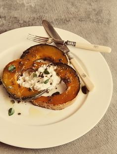 Spice Roasted Pumpkin with Burrata