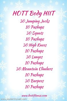 HIIT High Intensity Interval Training Workout ideas for day 9 cardio or hiit workout on bikini body!!