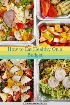 Eating healthy can get expensive if you're not careful.  Here are tips on how to eat healthy on a budget.