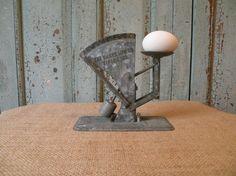 Vintage Oakes zinc egg scale by bisforbella on Etsy, $32.00