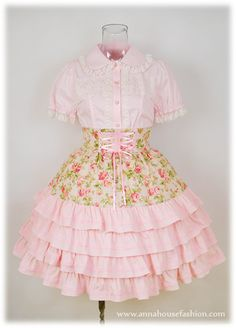Really cute country lolita dress