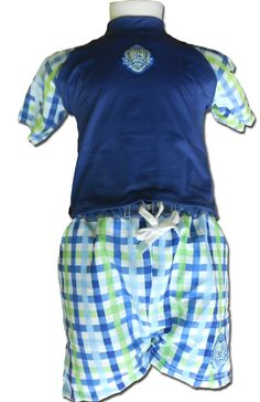 Koupací tričko s ochranou proti UV záření chlapecké