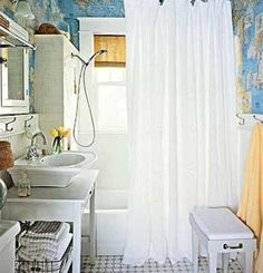 Country Style Small Bathroom Decorating Pictures 22 Ideas Small