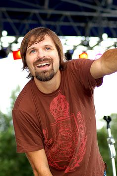 Third day lead singer Mac powell.  My all time favorite band!