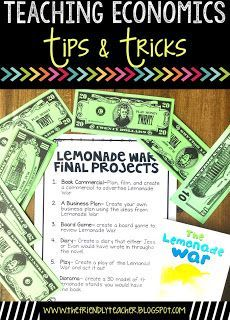 We love using The Lemonade War to begin our economics project for the year. We love integrating reading into social studies as we teach all our economic standards! Find out how we integrate the two with these easy tips and tricks!