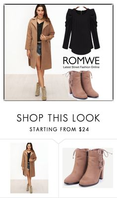 """Romwe no.4"" by almamehmedovic-79 ❤ liked on Polyvore"