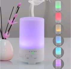 Home, Office, Car - Portable Ultrasonic Aromatherapy Diffuser - 50 ml