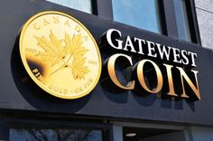 Gatewest Coin Signs: LED SIGN