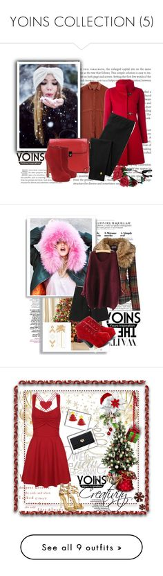 """""""YOINS COLLECTION (5)"""" by emily-5555 ❤ liked on Polyvore featuring FAY, Kate Spade, Alexander McQueen, Joe Browns, plus size clothing, Current/Elliott, Warehouse, Christian Louboutin, DIVA and Essentiel"""