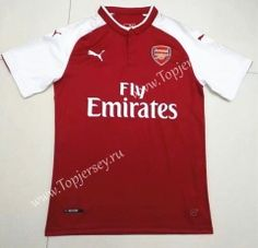 c40050304 China Soccer Jersey Suppliers · 2017-18 Arsenal Home Red Thailand Soccer  Jersey