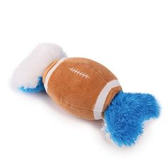 Grriggles Plush Football Champion Double Tugger Dog Toy, 10-3/4-Inch >>> To view further for this item, visit the image link.