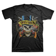 Guns N' Roses ® Men's T-Shirt Black : Target