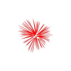 Large Red Fireworks clip art ❤ liked on Polyvore featuring home, home decor, red home accessories and red home decor