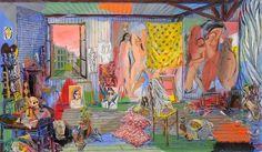 Damian Elwes - Picasso's Studio - Bateau Lavoir