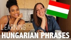 During my time studying abroad in Sweden, I befriended a wonderful Hungarian girl named Hajni! I asked her to help me learn some basic Hungarian phrases and . Hungarian Girls, Girl Names, Study Abroad, No Time For Me, Language, Manners, Learning, American, Youtube