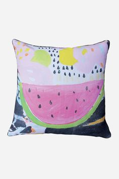 Jai Vasicek Watermelon Cushion from Fenton and Fenton via The Third Row