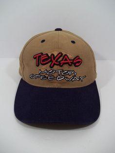 Texas Motor Speedway Baseball Cap Hat - Adjustable Back - NASCAR #Unbranded #BaseballCap
