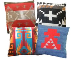 Pendleton Southwestern Pillows #geometric #navajo
