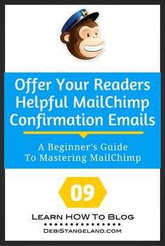 Direct new subscribers to your best content with smartly designed MailChimp confirmation emails. Use them to show off your blog and invite readers to follow you on social media. Give out your freebie while getting pageviews. It's a win-win. ★ Learn HOW To Blog ★