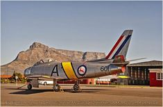 This page is dedicated to the volunteers and serving personell who restored the SAAF Canadair Sabre, The Sabre Project 372 team: Jon Durant (team leader) Barrie Pieterse Robbie Grant… Fighter Aircraft, Fighter Jets, Air Force Day, South African Air Force, F14 Tomcat, Post War Era, Army Day, Army Vehicles, Korean War
