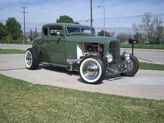 1932 Ford All Steel 5-Window Coupe.