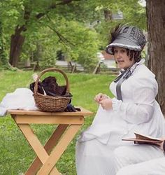 Places in Time: Regency/Federal Hair Pieces, Part One: Making the Pieces