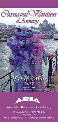 Carnaval Vénitien d'Annecy édition 2014 | Tourisme Annecy
