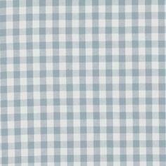 BaumwolleBuntgewebeKariert Hellblau/Weiß